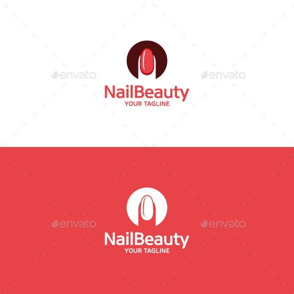 Nail Beauty Logo • Nail Art