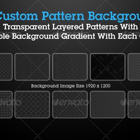 Custom Pattern Backgrounds Pack 1