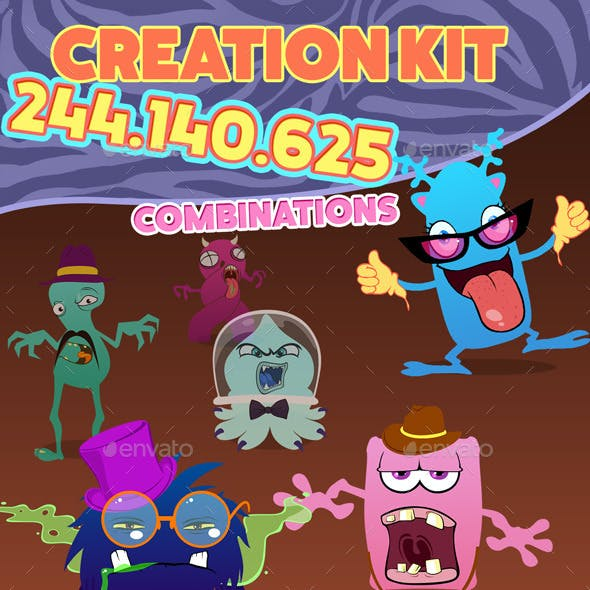 Character And Monster Creation Kit