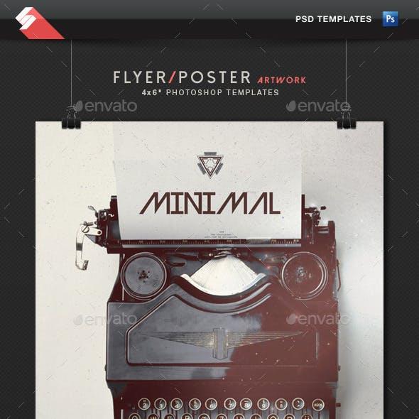 Minimal - Event Flyer Artwork Template