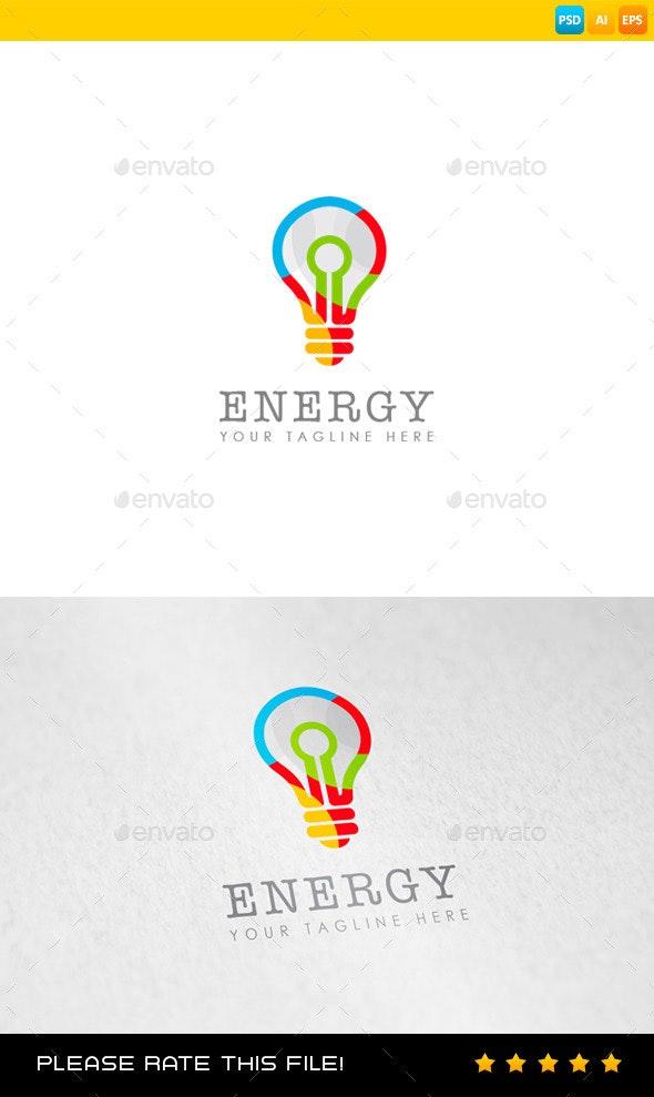 Bulb Logo - Objects Logo Templates