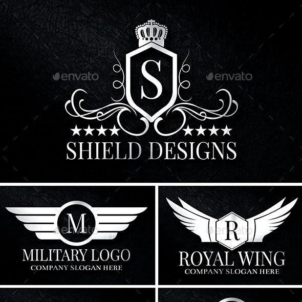 Heraldic Crest Logos Vol 2