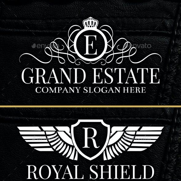 Heraldic Crest Logos Vol 3