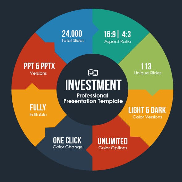 Investment Pitch Deck Presentation Template