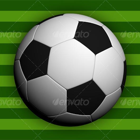 Soccer ball - Hi-res!