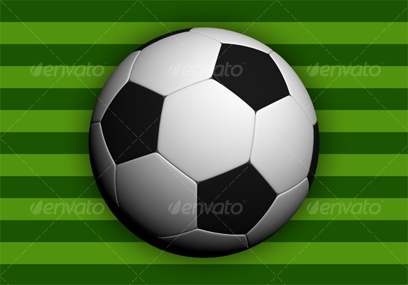 Soccer ball - Hi-res! - Objects 3D Renders