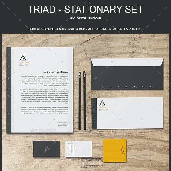 Triad - Stationary Set