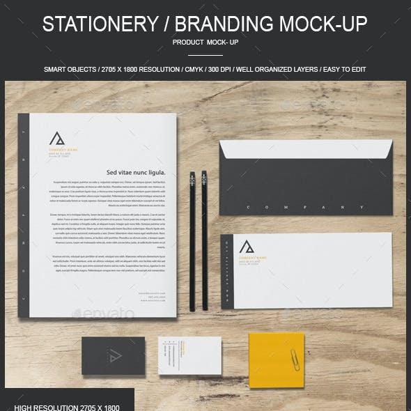 Stationery / Branding - Mock-Up
