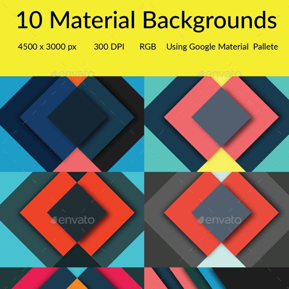 10 Material Backgrounds