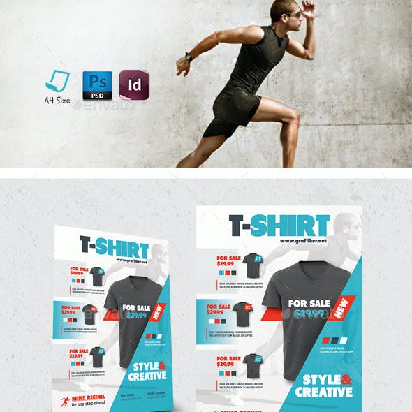 T-Shirt Flyer Templates