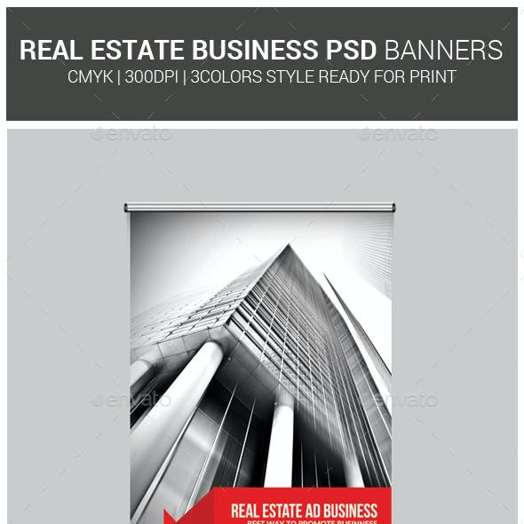Real Estate Business Roll-Up Banners