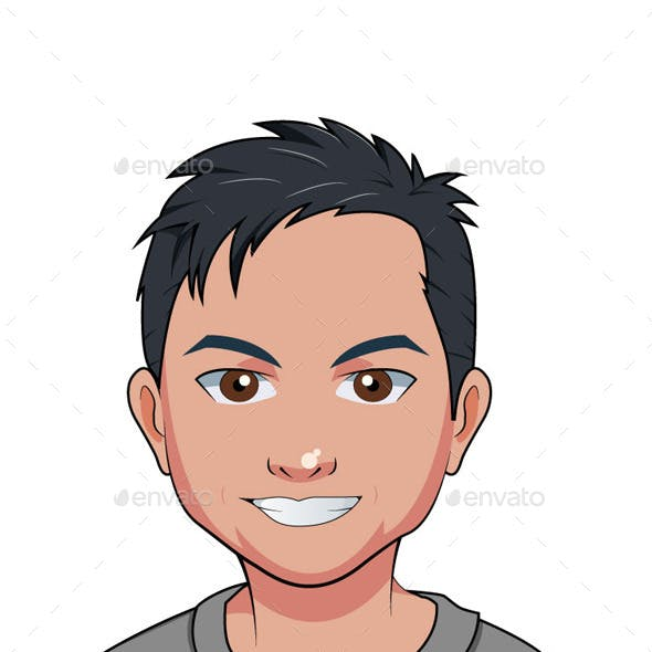 Social Profile Character