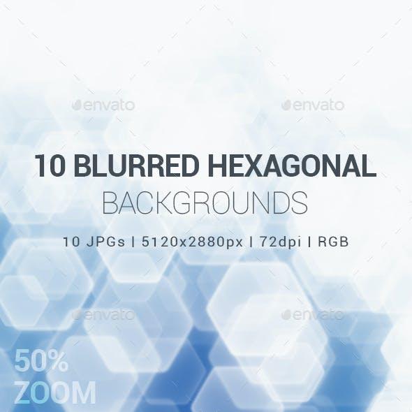 10 Hexagonal Backgrounds