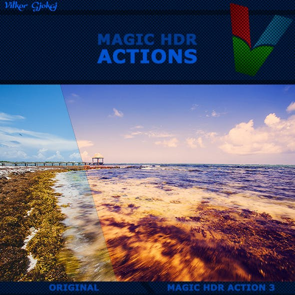 50 Magic HDR Actions