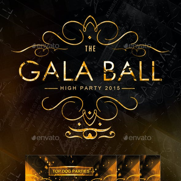 Golden Gala Deluxe Ballroom Party Tickets / Passes