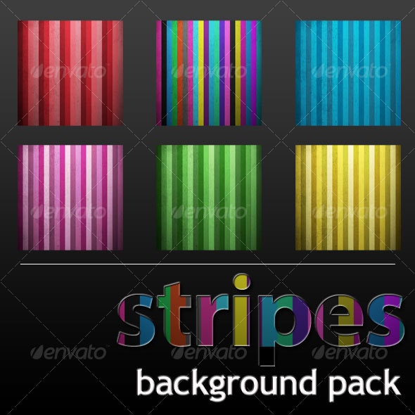 stripes background pack - Backgrounds Graphics