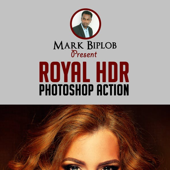 Royal HDR Photoshop Action