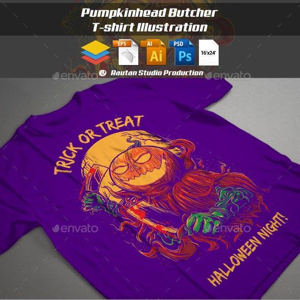 Pumpkin Head Butcher