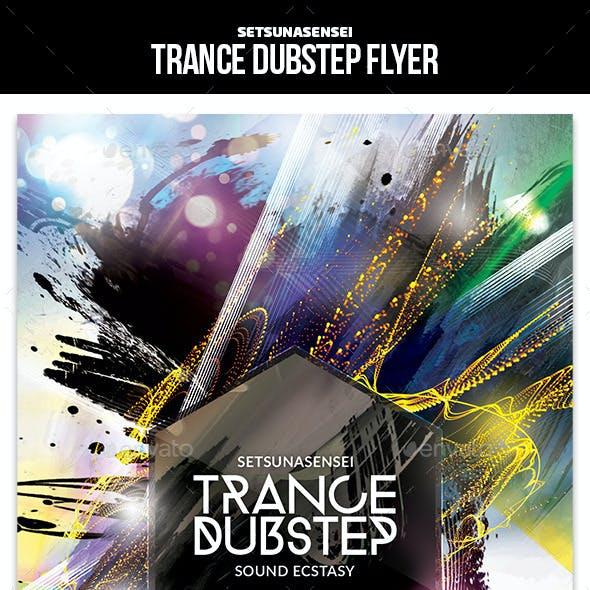 Trance Dubstep Flyer