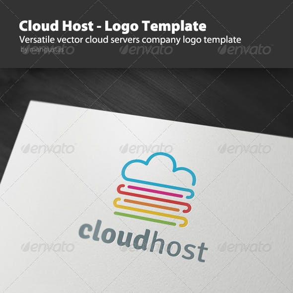 Cloud Host - Logo Template