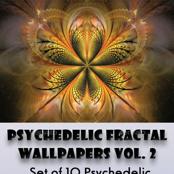 HD Psychedelic Fractal Wallpapers Vol. 2