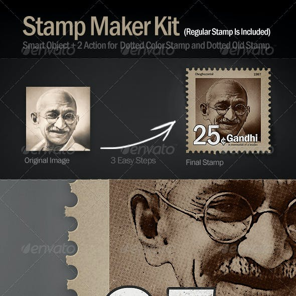 Stamp Maker Kit