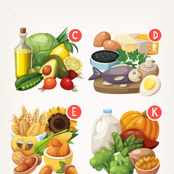 Products Rich With Vitamins