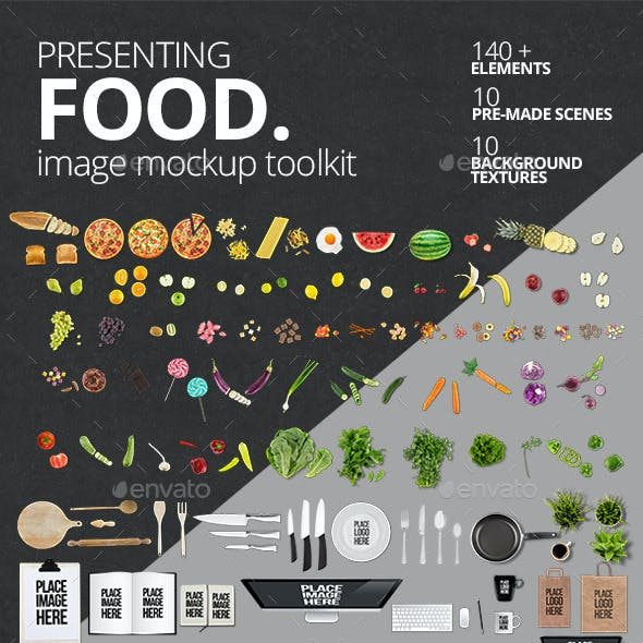 Food Mockup Toolkit