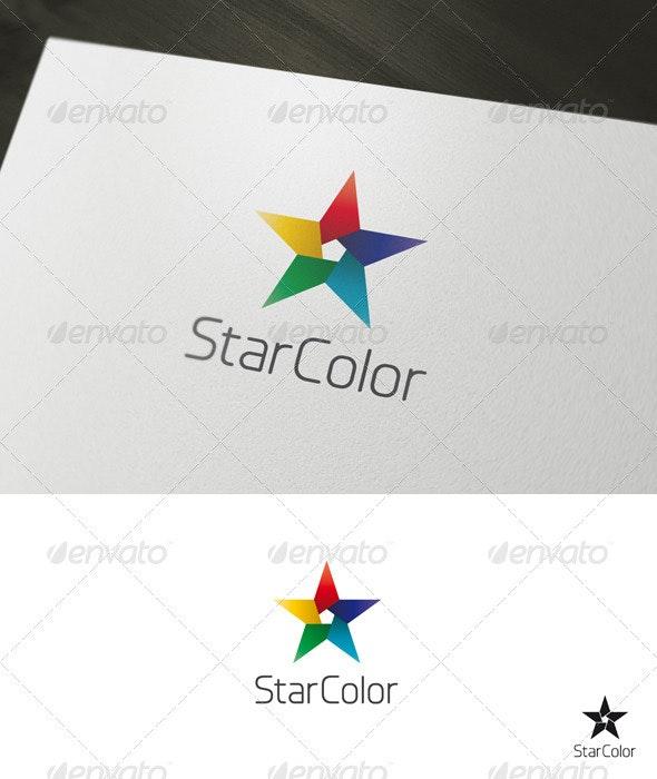 Star Color Logo - Symbols Logo Templates