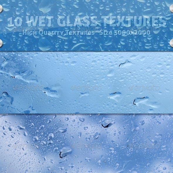 Wet Glass Textures