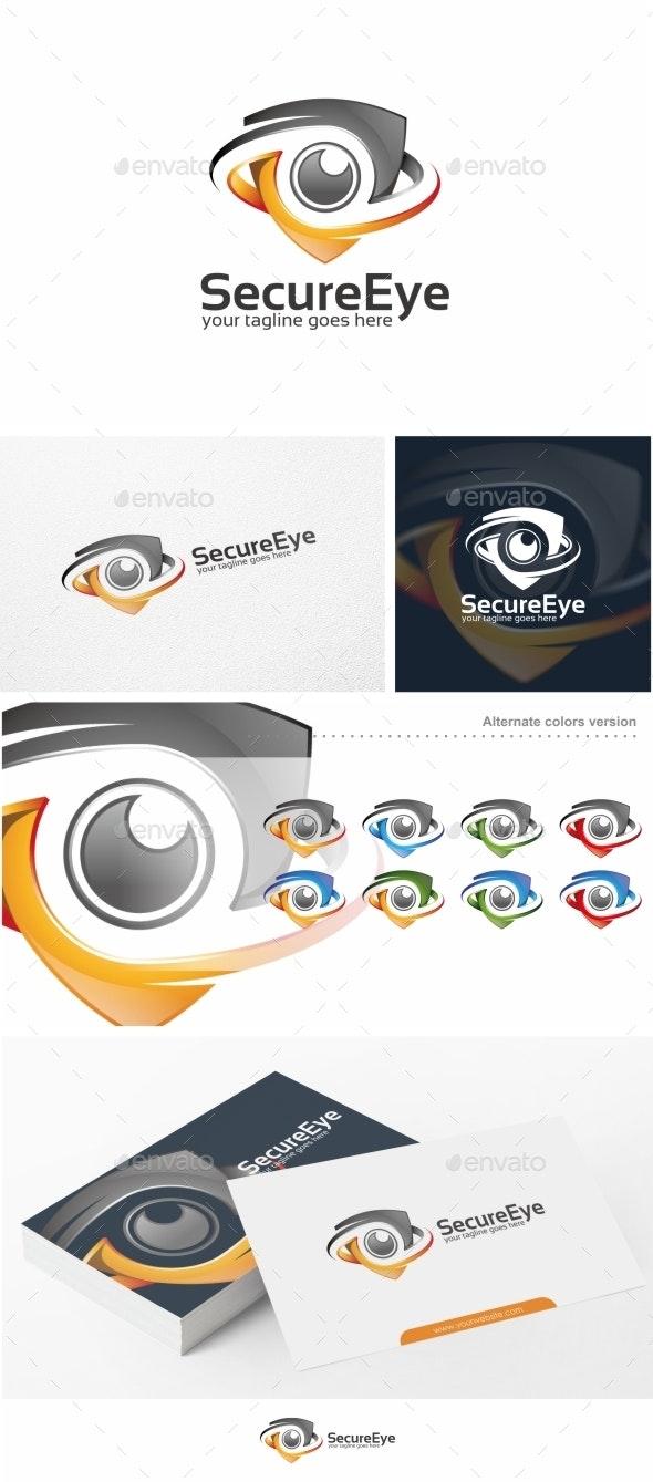 Secure Eye / Camera - Logo Template - Objects Logo Templates
