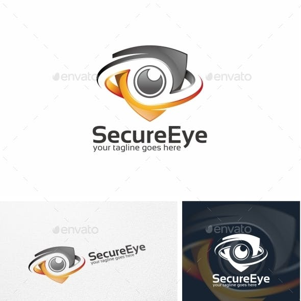 Secure Eye / Camera - Logo Template