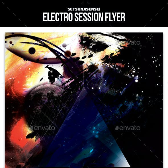 Electro Session Flyer
