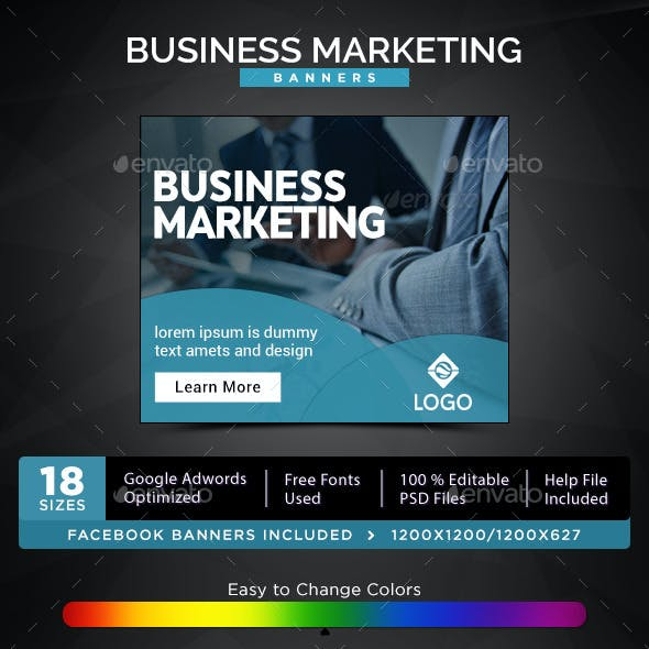 Business Marketing Banners