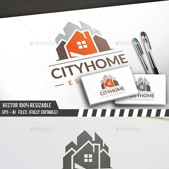 City Construction Logo Template