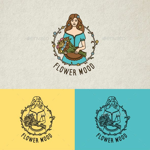 Flower Mood Logo