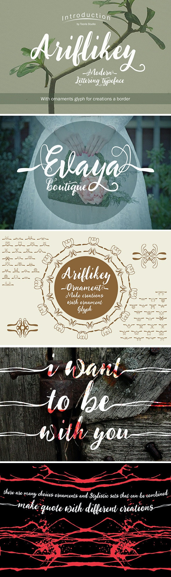 Ariflikey Typeface  - Handwriting Fonts