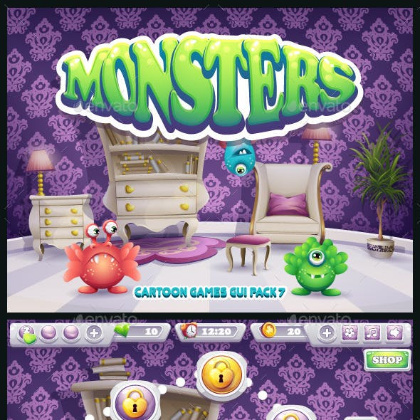 Monsters GUI