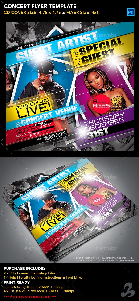 Concert Flyer Template - Events Flyers