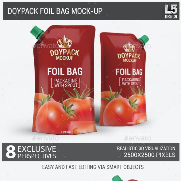 Doypack Foil Bag Mock-Up v.1