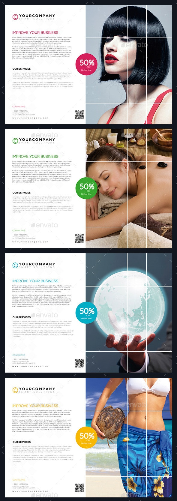 Simply Multipurpose Flyer Vol. 01 - Corporate Flyers