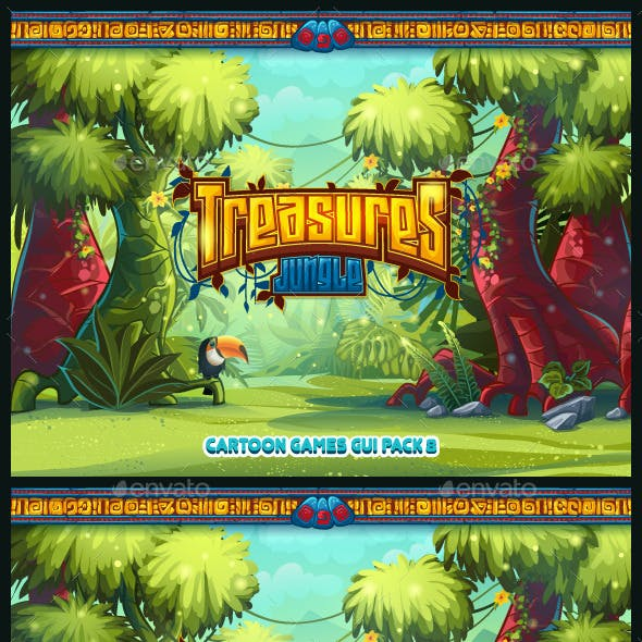 Jungle Treasures GUI.