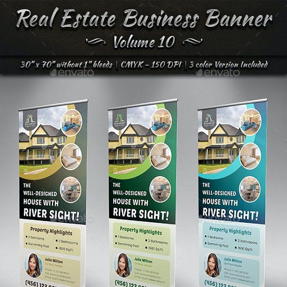 Real Estate Business Banner | Volume 10