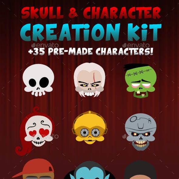 Skull & Character Creation Kit