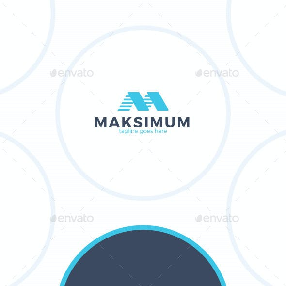 Maximum Letter M Logo
