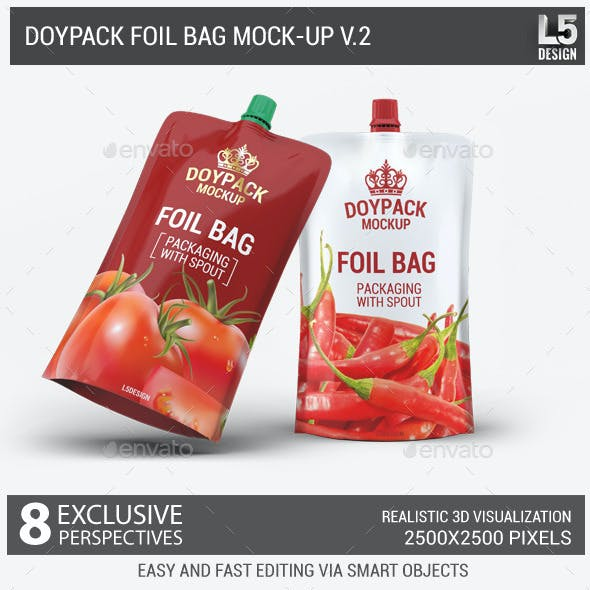 Doypack Foil Bag Mock-Up v.2