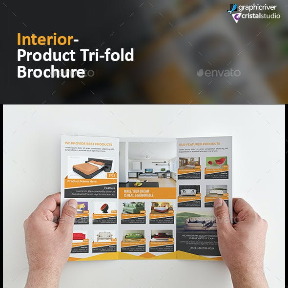 Interior Product Tri fold Brochure