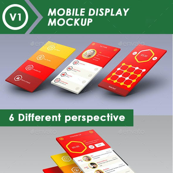 Mobile Display Mock-Up