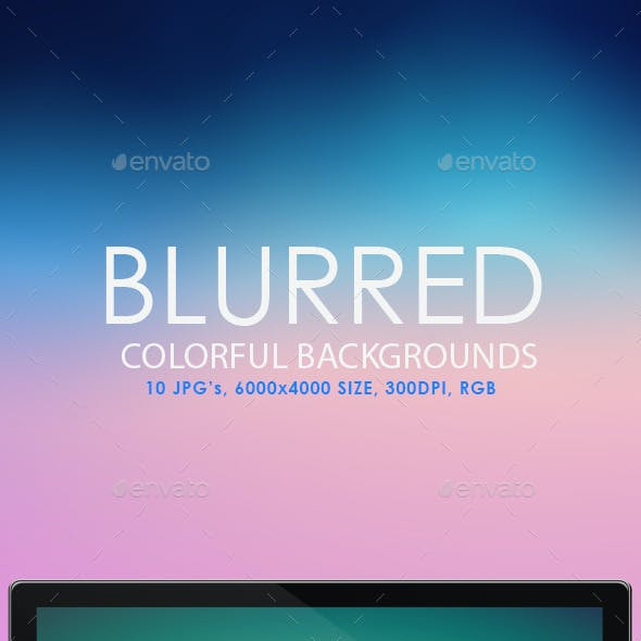 Blurred Colorful Backgrounds