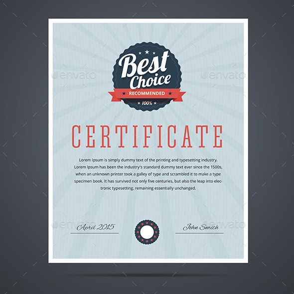 Certificate  - Concepts Business